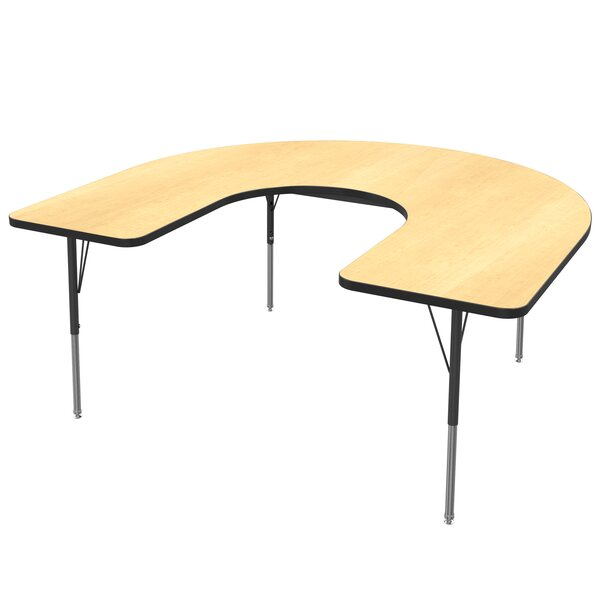 72 x 48  Horseshoe Activity Table by Marco Group Inc.