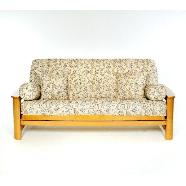 Pekoe Box Cushion Futon Slipcover by Lifestyle Covers