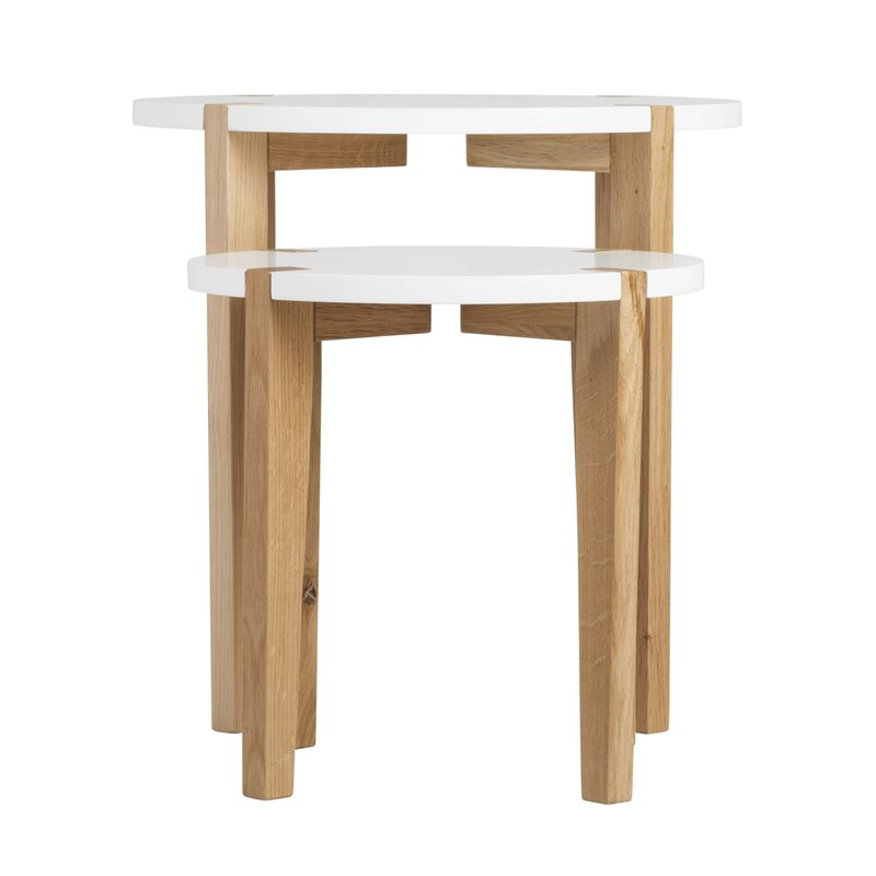 Turn on the Brights  Anatoli 2 Piece Nesting Tables