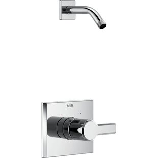 Compare Pivotal Monitor 14 Series Shower Faucet Trim Less Head with Monitor By Delta