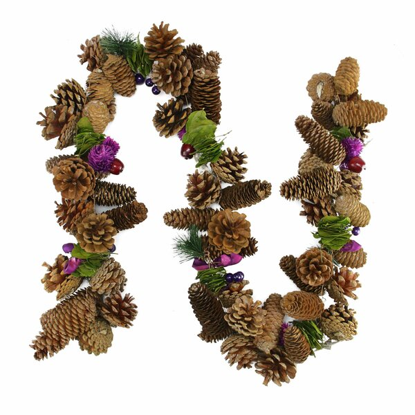 Decorative Pine Cone and Berry Artificial Christmas Garland by Northlight Seasonal