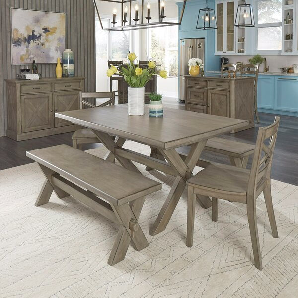 Darin Lodge Rectangular 5 Piece Dining Set by Gracie Oaks Gracie Oaks