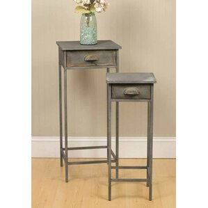 2 Piece End Table Set by Pyper Marketing LLC