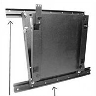 Lateral Shift Accessory for Flat Panel Wall Mounts by Chief Manufacturing