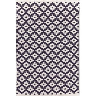 Compare & Buy Samode Hand-Woven Blue/White Indoor/Outdoor Area Rug By Dash and Albert Rugs