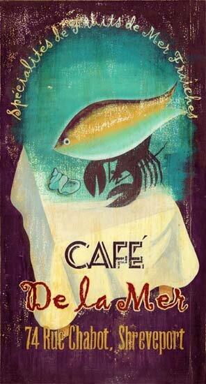 De Le Mer Vintage Advertisement Plaque by Winston Porter