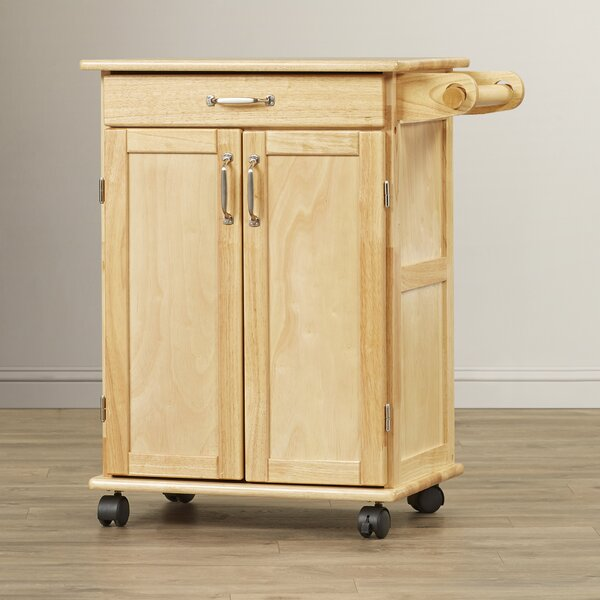 Athena Kitchen Cart by Alcott Hill