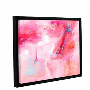 'While She Dances' by Donna Weathers Framed Painting Print by Wrought Studio