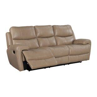 Defazio Leather Power Reclining Sofa