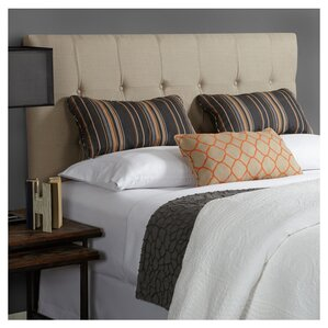 Fulton in Beige Upholstered Panel Headboard by Mozaic Company
