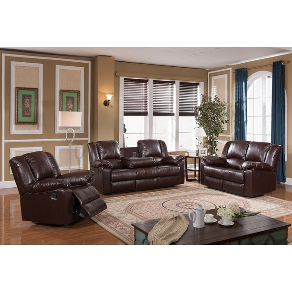 Kimber Reclining Configurable Living Room Set by Winston Porter