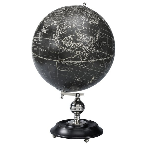 Vaugondy 1745 Noir Globe by Authentic Models