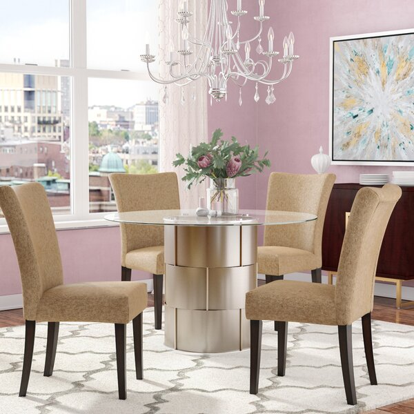 Cliburn 5 Piece Breakfast Nook Dining Set by House of Hampton