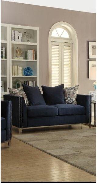 Price Comparisons Of Franco Loveseat by Everly Quinn by Everly Quinn