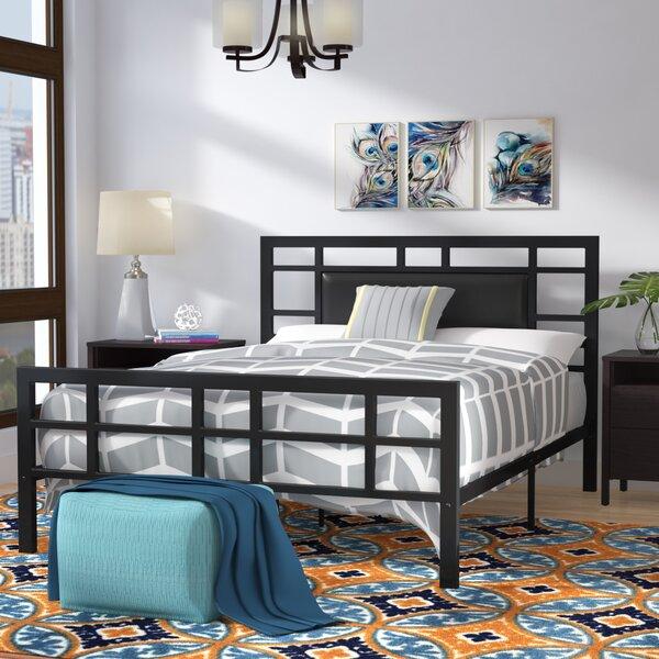 Bruce Upholstered Platform Bed by Zipcode Design