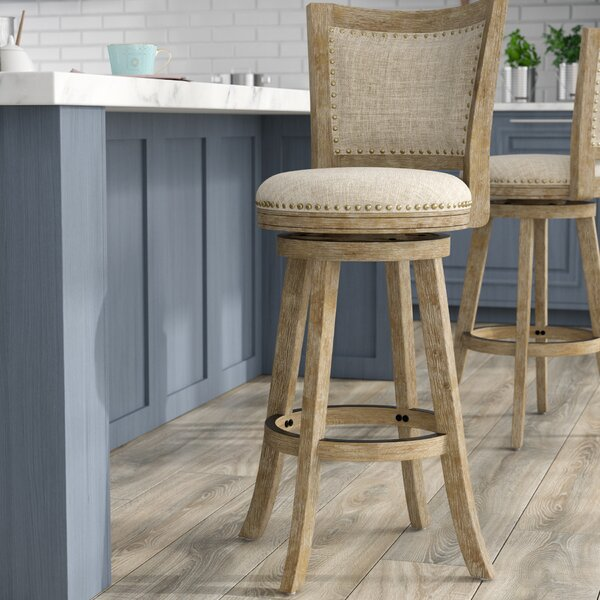 Joanne 29 Swivel Bar Stool by Greyleigh