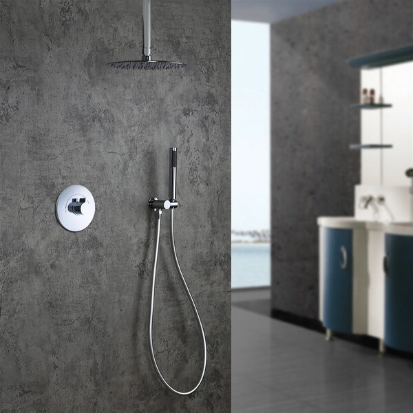 Lima 2-Way Thermostatic Complete Shower System With Rough-in-Valve By FontanaShowers