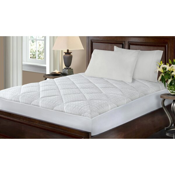Kingsley Hygro Luxe Polyester Mattress Pad by The Twillery Co.