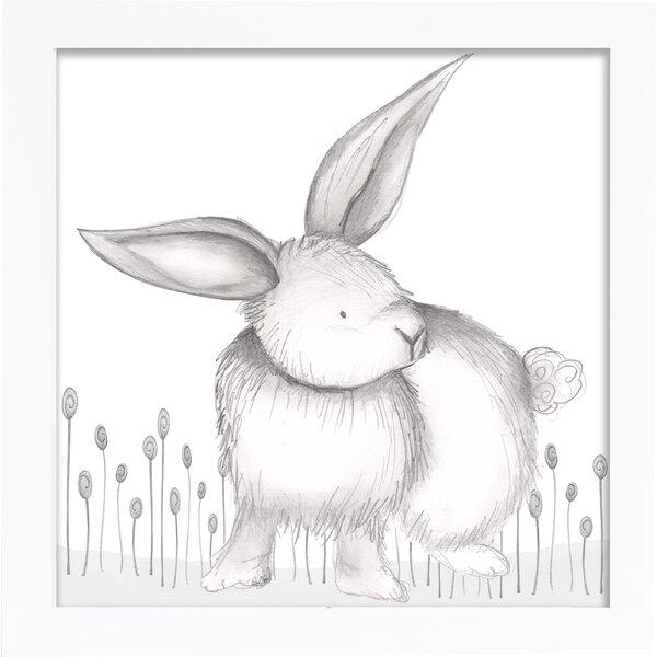 Forest Riley Rabbit Framed Art by Doodlefish