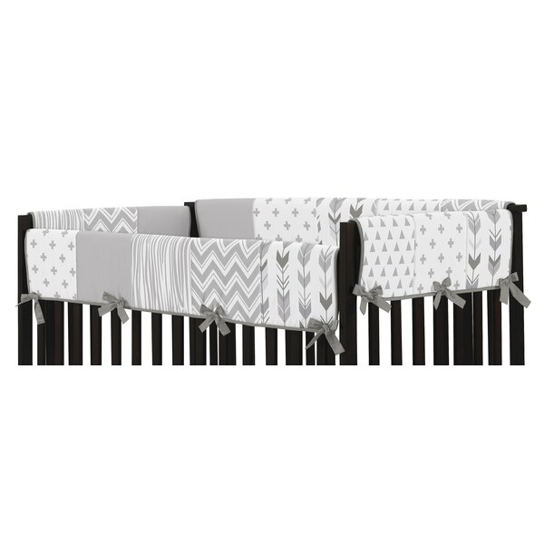 Woodsy Crib Rail Guard Cover by Sweet Jojo Designs