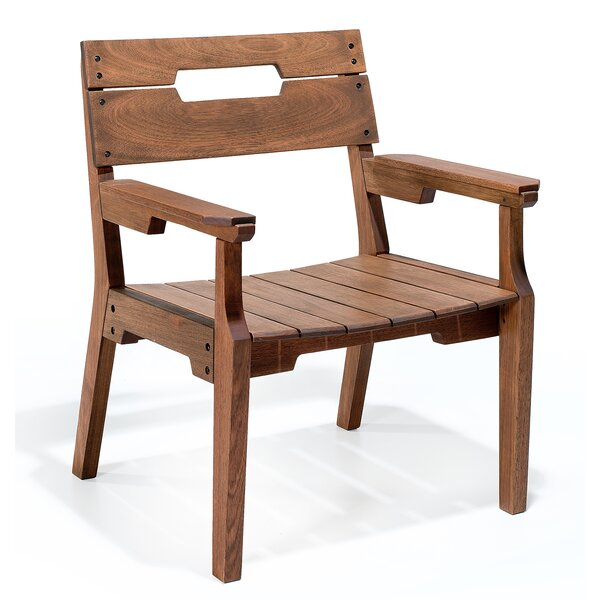 Marvine Patio Dining Chair by Rosecliff Heights