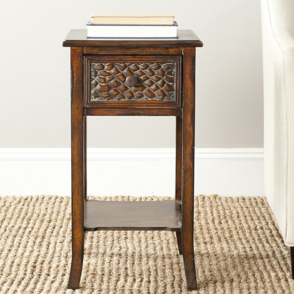 Posey End Table by Bay Isle Home