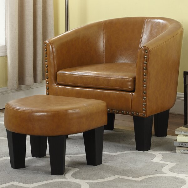Mohamud Barrel Chair by Gracie Oaks