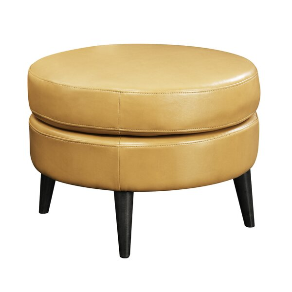 Keeter Cocktail Ottoman by Andover Mills