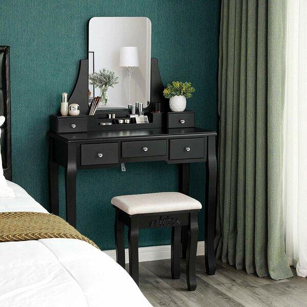 Beauregard Vanity Set With Mirror By House Of Hampton