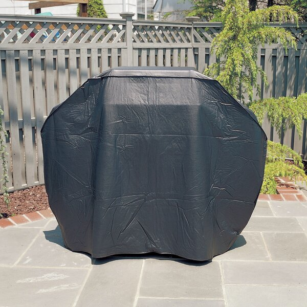 Silver Prestige Gas Grill Cover by Mr. Bar-B-Q