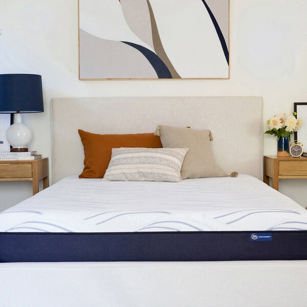 Perfect Sleeper 10 Medium Gel Memory Foam Mattress by Serta
