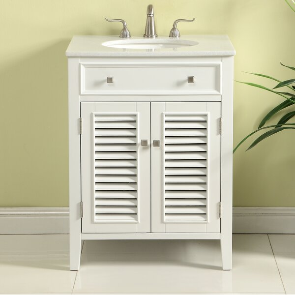Pinyon 24 Single Bathroom Vanity Set by Rosecliff HeightsPinyon 24 Single Bathroom Vanity Set by Rosecliff Heights