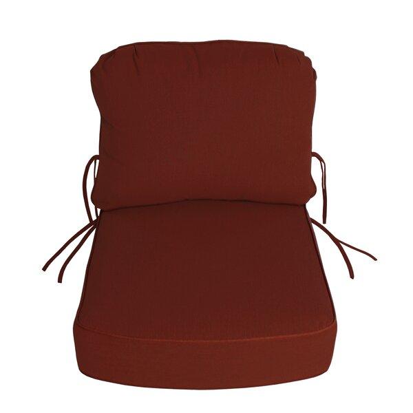 Indoor/Outdoor Sunbrella Deep Setting Chair Cushion by Comfort Classics Inc.