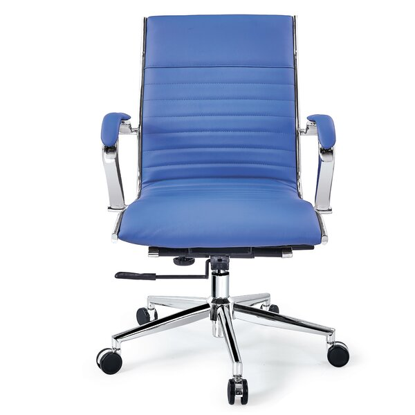 Mid Back Swivel Office Conference Chair by Orren Ellis