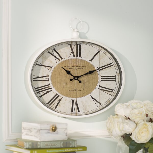 Saint-Denis Metal Wall Clock by Lark Manor