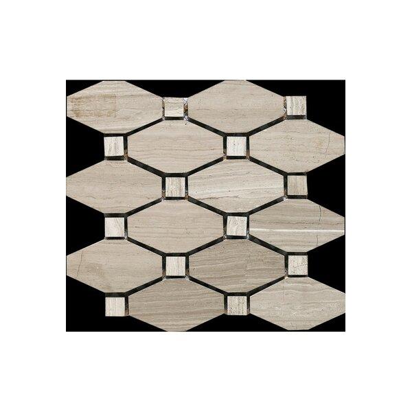 12 x 12 Marble Mosaic Tile in Honed by Kellani