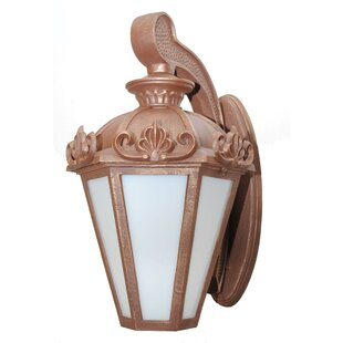 Online Reviews Petrey 3-Light Outdoor Wall Lantern By Alcott Hill