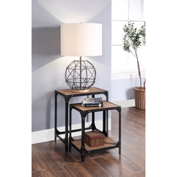 Danielsville 2 Piece Nesting Tables By 17 Stories