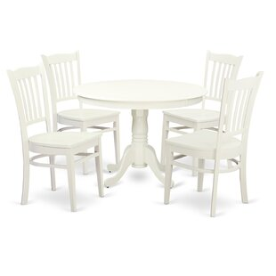 Hartland 5 Piece Dining Set by Wooden Importers Kitchen & Dining Furniture