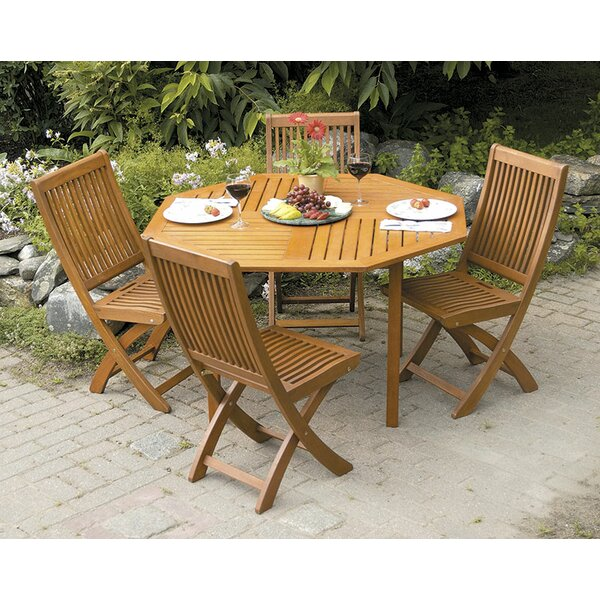 Freida 5 Piece Dining Set by Highland Dunes