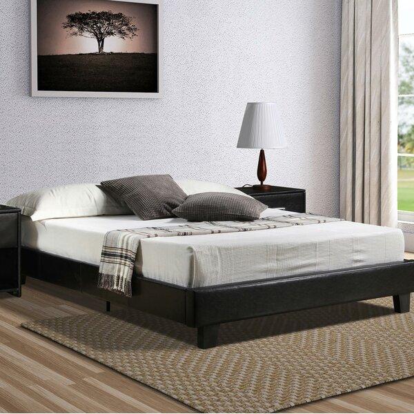 Rueda Upholstered Platform Bed by Wrought Studio