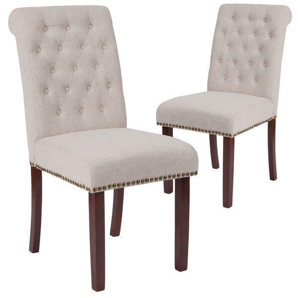 Fransen Upholstered Dining Chair (Set of 2) by Charlton Home