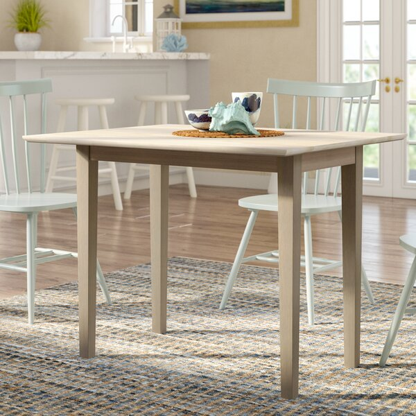 Wembley Dining Table with Dual Drop Leaf by Beachcrest Home