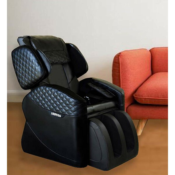 Review Shiatsu Luxurious Electric Reclining Adjustable Width Heated Full Body Massage Chair