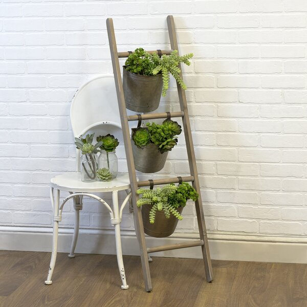 Ogden Ladder Wood Planter by American Mercantile
