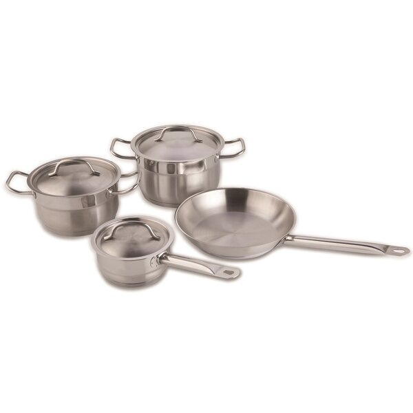 Hotel Line 7 Piece Cookware Set by BergHOFF International