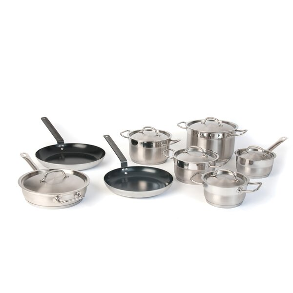 Hotel Line 8 Piece Cookware Set by BergHOFF International