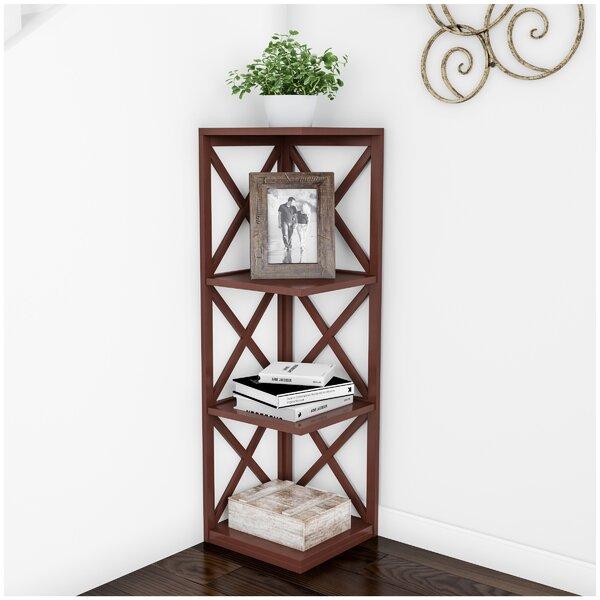 Monarrez Corner Bookcase By Gracie Oaks