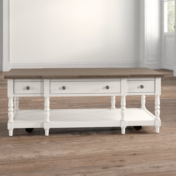 Aleman Coffee Table with Storage by August Grove August Grove