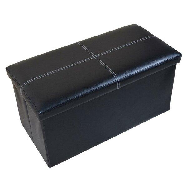 Storage Ottoman Bench Cuboid Box By Ebern Designs